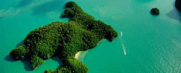 Ile paradisiaque de Langkawi
