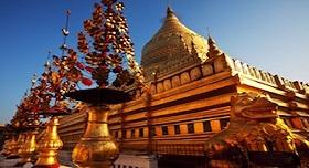 Pagode en Or Myanmar