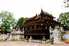 Monastere Shwenandaw Myanmar