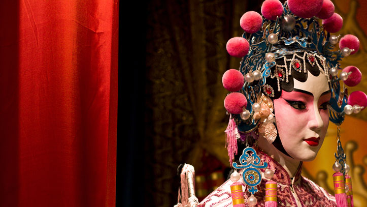 mannequin chinois opera tradition