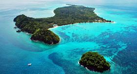 Mantanani Island Sabah au large de Kota Belud