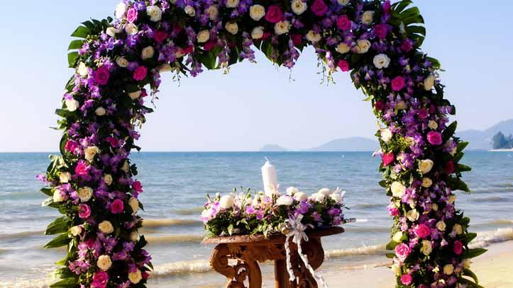 Sable blanc, intimité, eaux claires...quoi de mieux qu'une plage Cambodgienne pour un voyage de noces ?