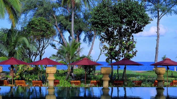 Marriott Hotel Phuket piscine et plage