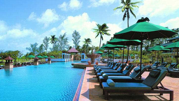 Marriott Hotel Phuket terrasse