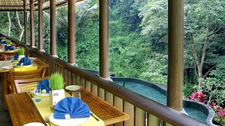 Maya Ubud terrasse