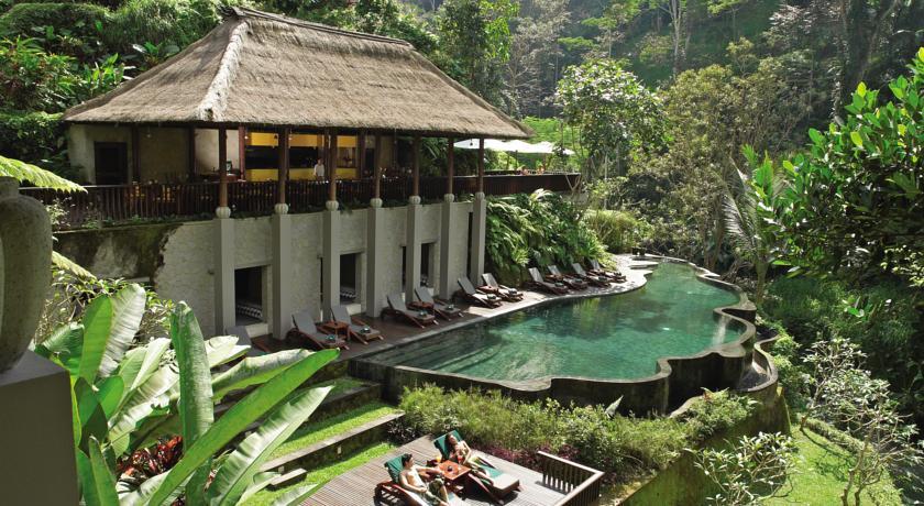 Maya Ubud vue hotel piscine