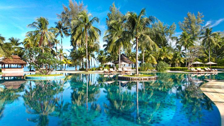 Meridien hotel beach front