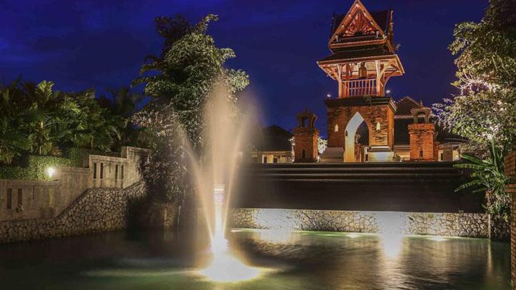 Le meridien Khao Lak vue nuit