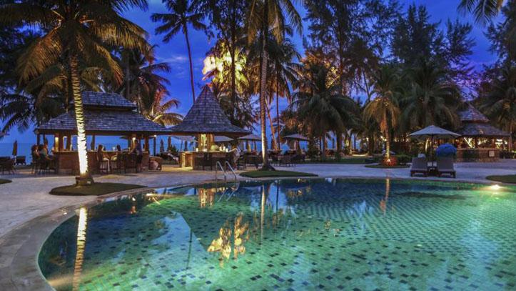 Le meridien Khao Lak piscine