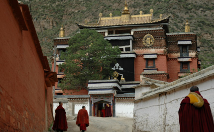 Monastère de Chine