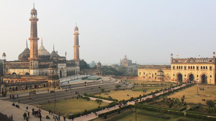 Mosquée Bada Imambara Lucknow