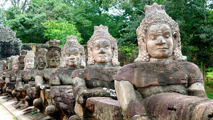 Les mythiques et immortels soldats Khmers d'Angkor !