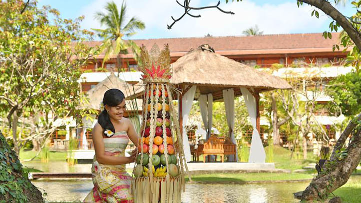 Nusa dua beach resort jardin
