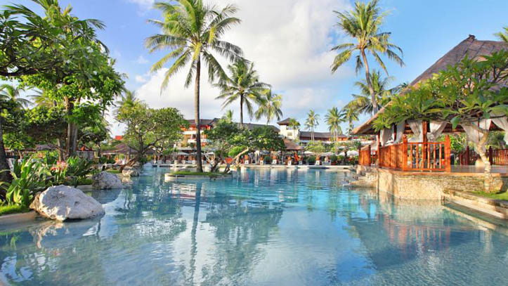 Nusa dua beach resort piscine