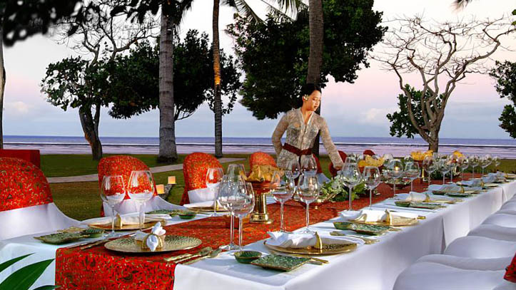 Nusa dua beach resort restaurant
