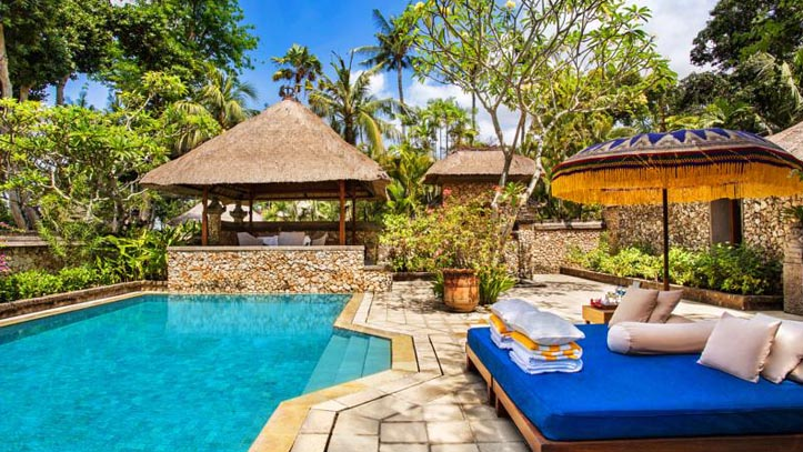 oberoi hotel piscine
