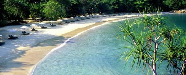 Plage du Pangkor Laut Resort