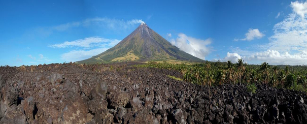 Volcan aux Philippines