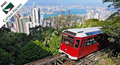 Peak Tram à Hong Kong