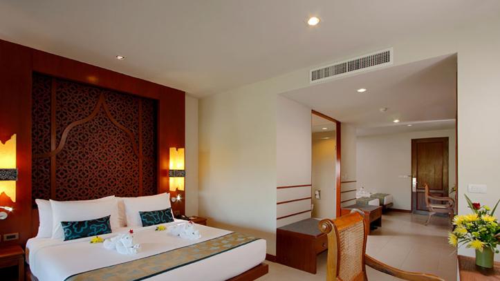 Puhket Rawai Palm Beach chambre