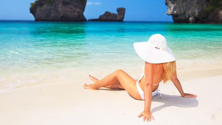 Relaxation au bord de la plage