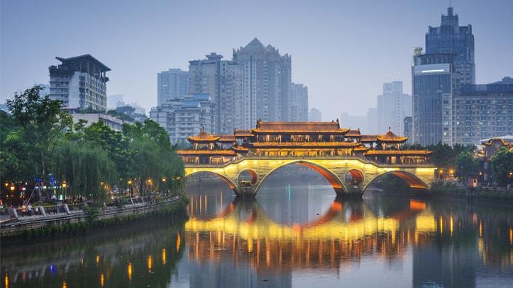 pont anshun chengdu sichuan