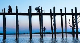 Pont U Bein, Birmanie