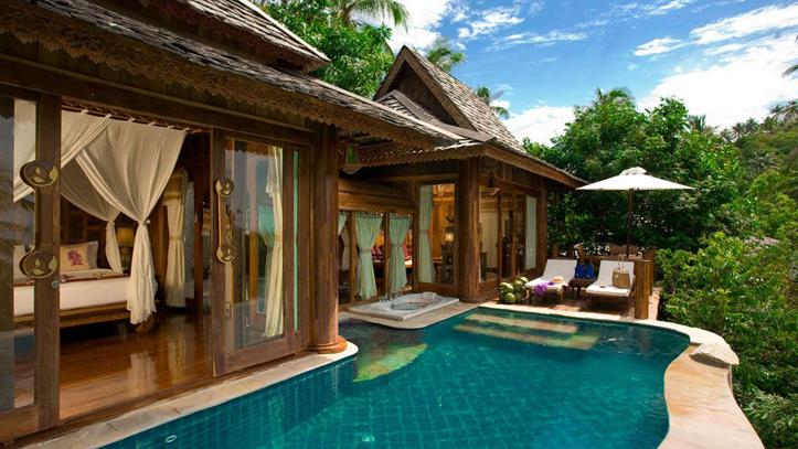 pool villa santhiya