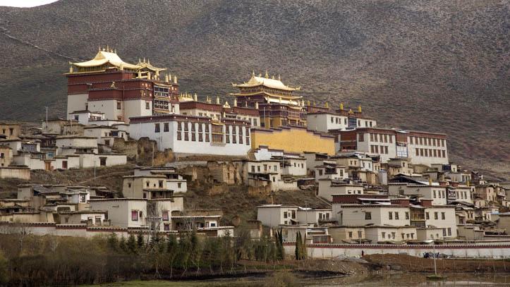 Potala Tibet Maison Dalai Lama