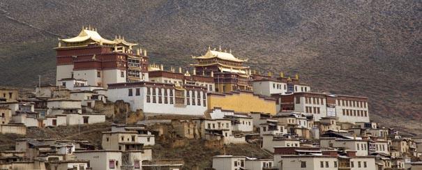 Le Potala, la maison du dalai lama au Tibet
