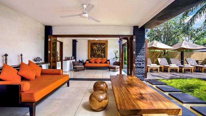 Qunci villa terrasse hotel
