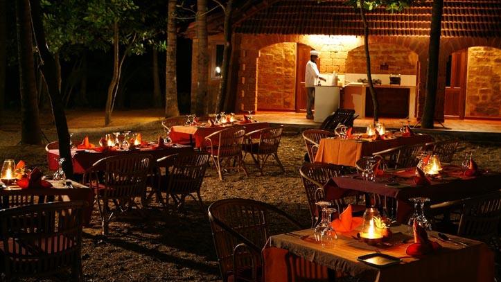 Restaurant hotel Swaswara 4*