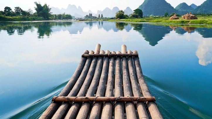riviere Li Guilin Chine Yangshuo