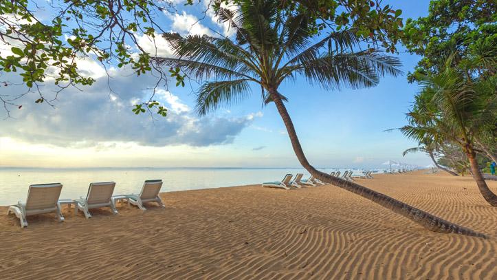 Sanur beach Bali Indonésie