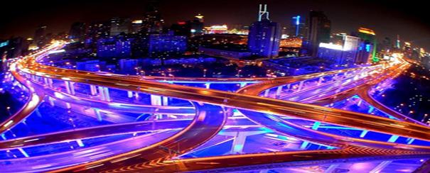 Shanghai megalopole flux