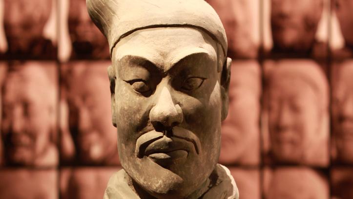 soldat terre cuite XIAN chinie