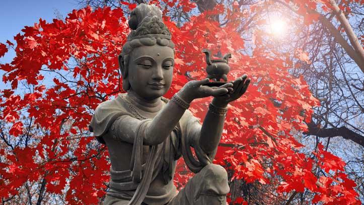 statue bouddha ile lantau