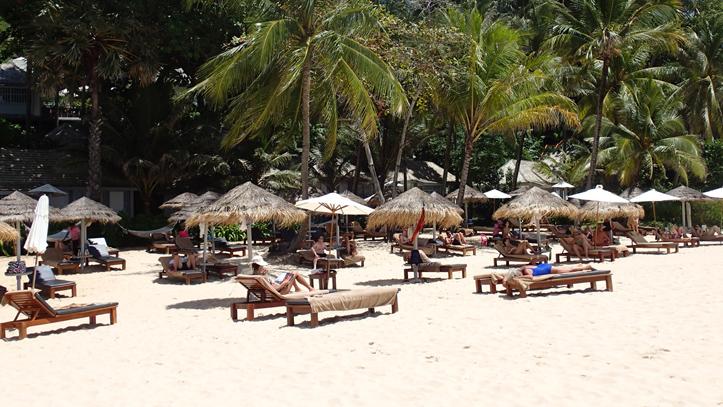 Surin Phuket plage transat