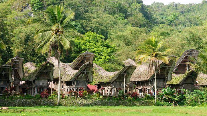 Tana Toraja Londa Indonesie