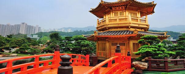 Temple Chi Lin à Kowloon