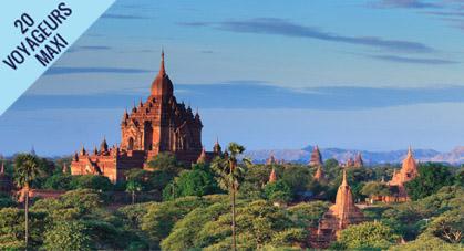 Temples et stupas en Birmanie