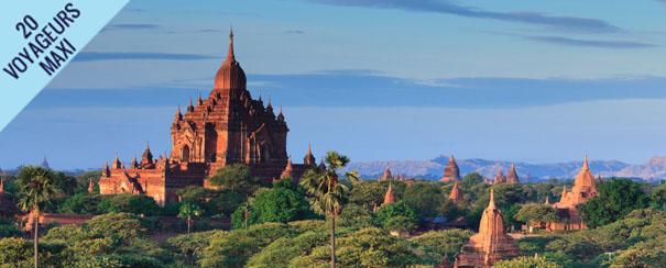 Temple et stupas en Birmanie