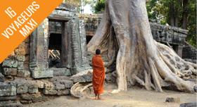 Temple Angkor moine Cambodge liste