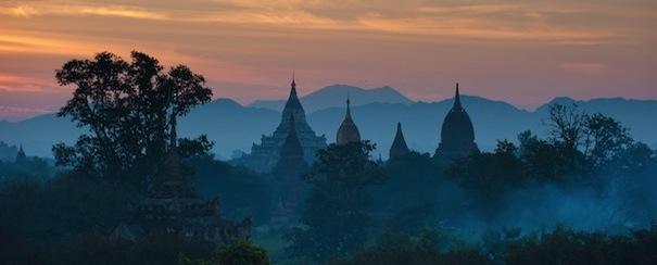 Temple Birmanie Myanmar