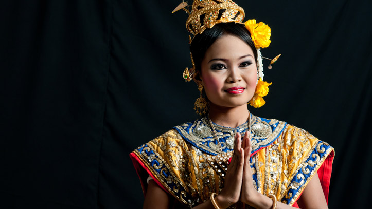 Danseuse traditionnelle Thai