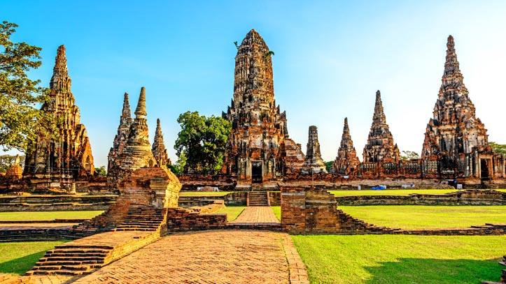 thailande ruine ayutthaya