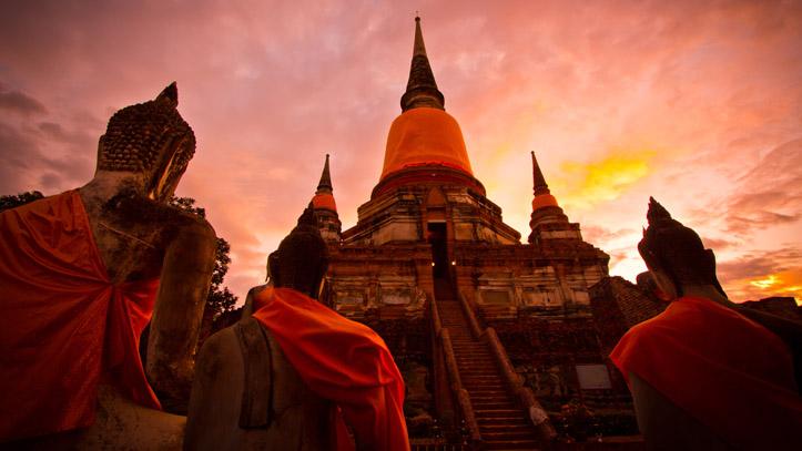 thailande temple ayutthaya
