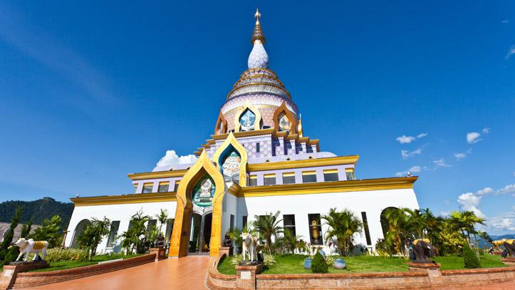 thailande wat chedi kaew