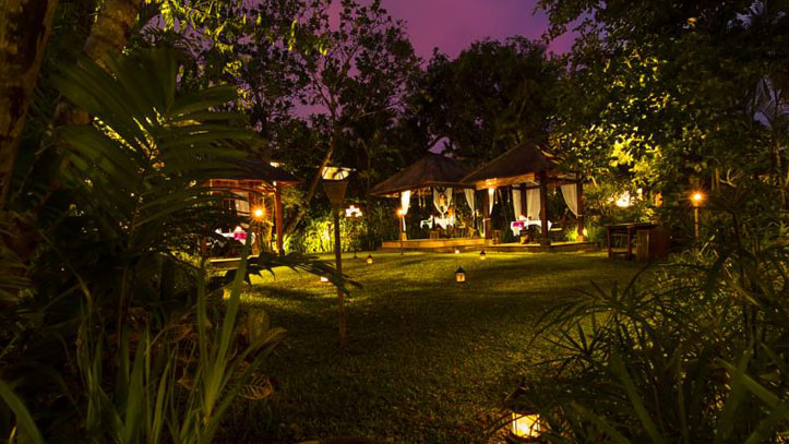 The Pavilions Bali jardin