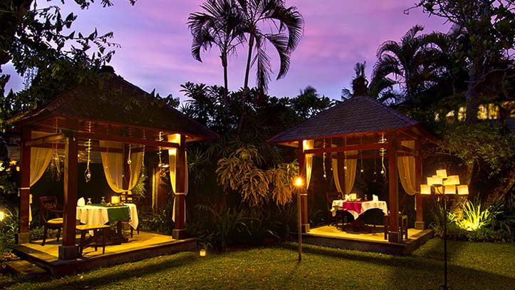 The Pavilions Bali jardin tropical